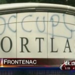 Occupy graffiti targets Frontenac neighborhood of the 1%, while City feigns Hopeville eviction