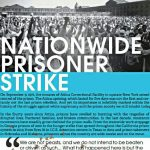 September 9th Nationwide Prisoner Strike Poster